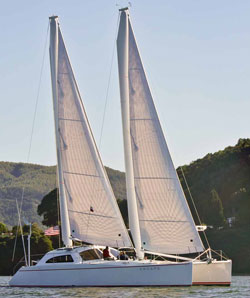 Atlantic 47 MastFoil